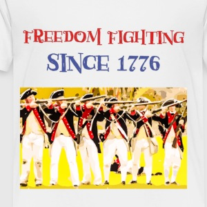 IMG 3757 Freedom Fighting Since 1776 USA, Shirt - Toddler Premium T-Shirt