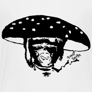 Smokin' Monkey Mushroom - Fungi Faction - Toddler Premium T-Shirt