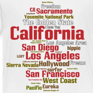 California (CA, The Golden State) Shirt - Toddler Premium T-Shirt
