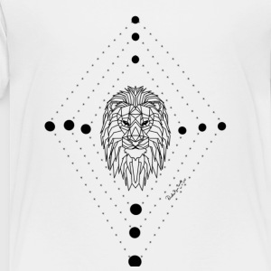 Geometric Lion - Toddler Premium T-Shirt