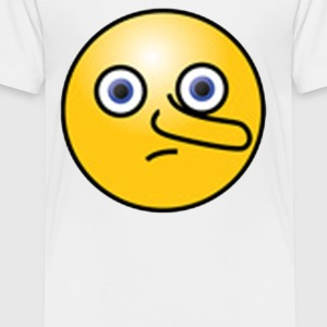 Nosey Smiley Face Emoticon - Toddler Premium T-Shirt