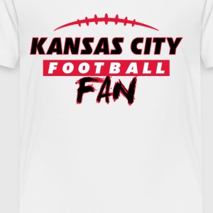 Kansas City football fan - Toddler Premium T-Shirt