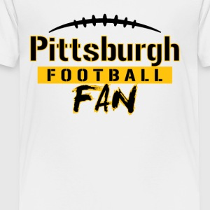 Pittsburgh Football Fan - Toddler Premium T-Shirt