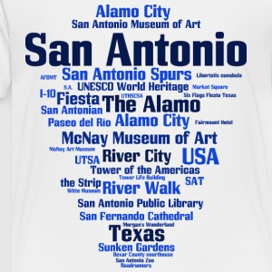 San Antonio (Texas, USA, Alamo City, River City) - Toddler Premium T-Shirt
