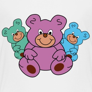 three little teddy bears - Toddler Premium T-Shirt