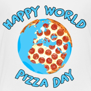 Happy World Pizza Day - Toddler Premium T-Shirt