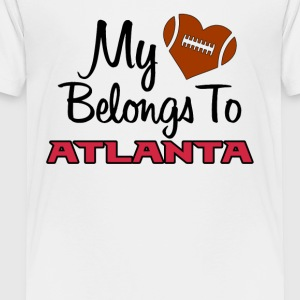 My heart belongs to Atlanta - Toddler Premium T-Shirt