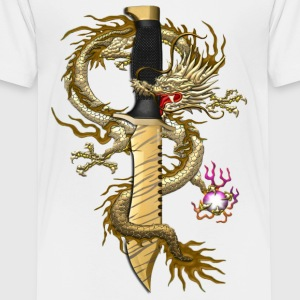 Bowie Tiger Tooth Dragon - Toddler Premium T-Shirt
