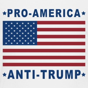 PRO-AMERICA ANTI-TRUMP - Toddler Premium T-Shirt
