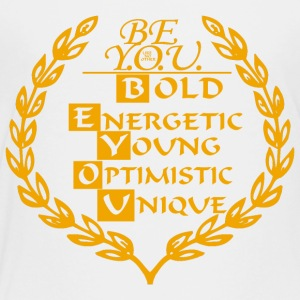 BE YOU CREST - Toddler Premium T-Shirt