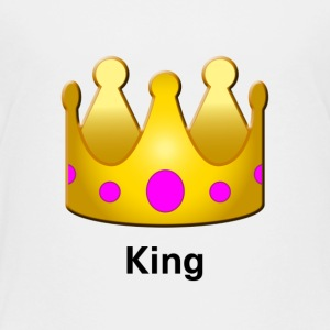 King Crown Design - Toddler Premium T-Shirt