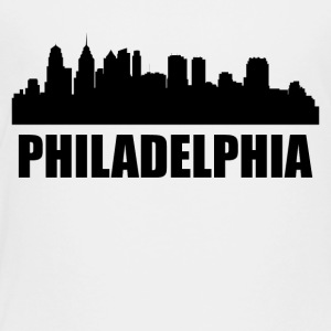 Philadelphia PA Skyline - Toddler Premium T-Shirt