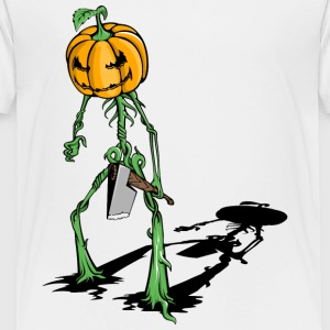 pumkin_with_axe - Toddler Premium T-Shirt