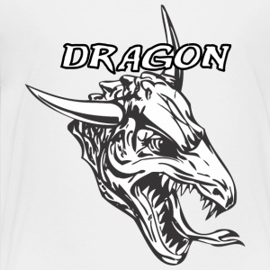dragon_with_bull_horn - Toddler Premium T-Shirt