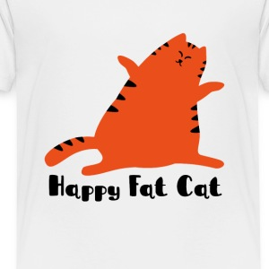 FAT CAT - Toddler Premium T-Shirt