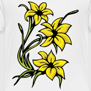 yellow_flowers_2 - Toddler Premium T-Shirt