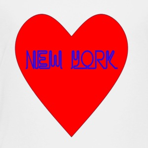New York Heart - Toddler Premium T-Shirt