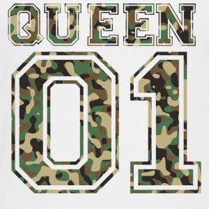Queen_01_camo_2 - Toddler Premium T-Shirt