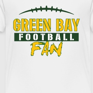Green Bay football fan - Toddler Premium T-Shirt