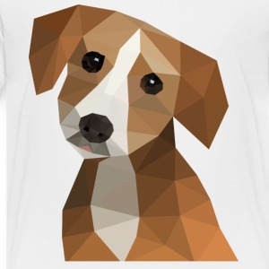 Low-Poly Dog - Toddler Premium T-Shirt