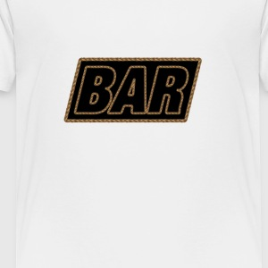 Bar Rope Edge - Toddler Premium T-Shirt