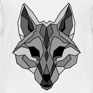 Lineart of a wolf / wolf gray - Toddler Premium T-Shirt