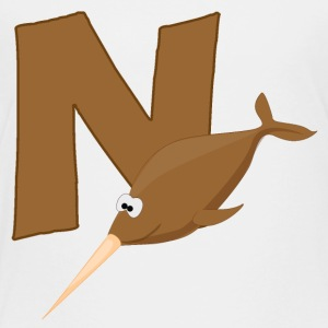 N Is For Narwhal - Toddler Premium T-Shirt