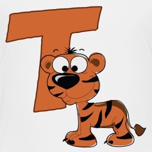 T Is For Tiger - Toddler Premium T-Shirt