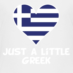 Just A Little Greek - Toddler Premium T-Shirt