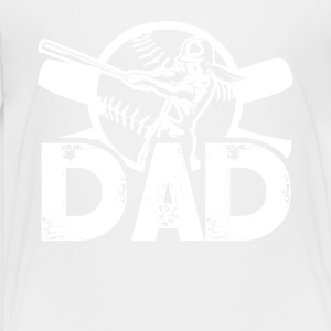 Softball Dad Tee Shirt - Toddler Premium T-Shirt