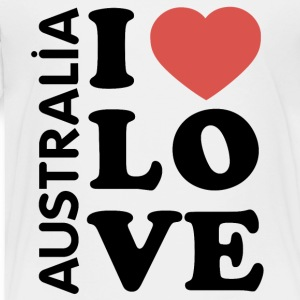 I love Australia - Toddler Premium T-Shirt