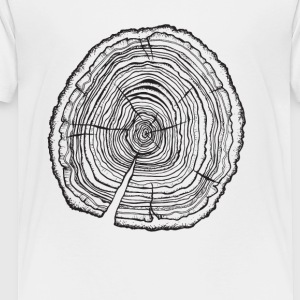 tree 3 tee - Toddler Premium T-Shirt