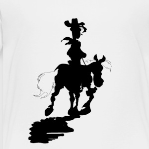 Lucky Luke Silhouette - Toddler Premium T-Shirt