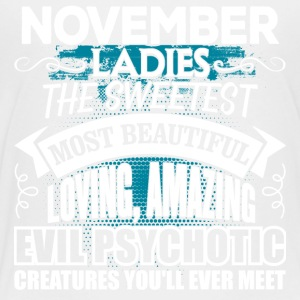 NOVEMBER Ladies - Toddler Premium T-Shirt