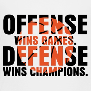 offense wins games - Toddler Premium T-Shirt