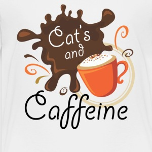 Cat's and Caffeine - Toddler Premium T-Shirt