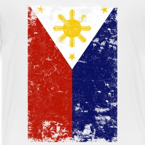 Filipino Vintage Distressed Philippines Flag - Toddler Premium T-Shirt