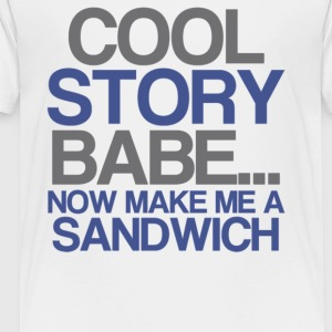 Cool Story Baby - Toddler Premium T-Shirt