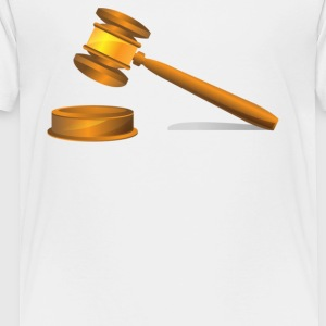Gavel hammer - Toddler Premium T-Shirt