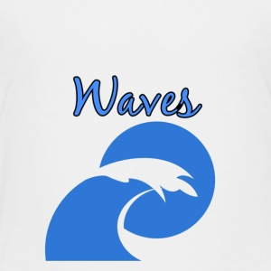 Waves - Toddler Premium T-Shirt