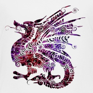 Fluorescent Dragon - Toddler Premium T-Shirt