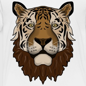 Beardy Tiger - Toddler Premium T-Shirt