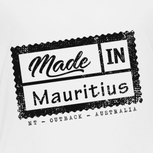 Stamp Made In Mauritius - Northern Territory - Toddler Premium T-Shirt
