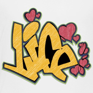life_graffiti_yellow - Toddler Premium T-Shirt