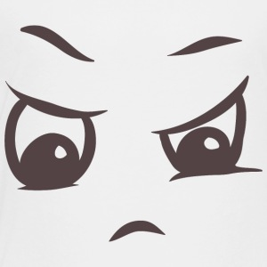 Angry face on your t-shirt - Toddler Premium T-Shirt