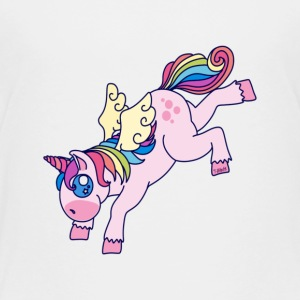 Unicorn Hi-Ya! - Toddler Premium T-Shirt
