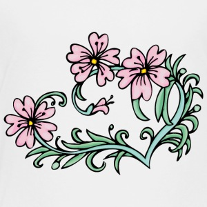 small_pink_flowers - Toddler Premium T-Shirt
