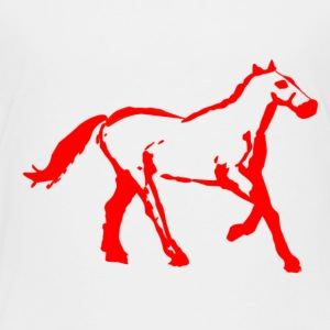 cyber booby horsered - Toddler Premium T-Shirt