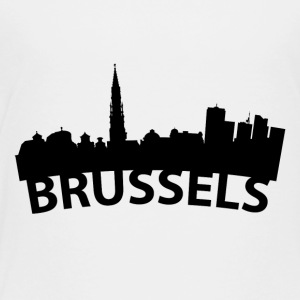 Arc Skyline Of Brussels Belgium - Toddler Premium T-Shirt