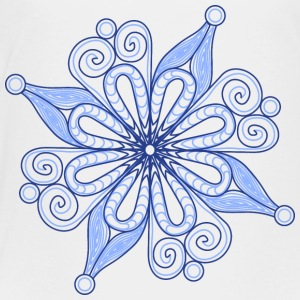 Snow flake - blue - Toddler Premium T-Shirt